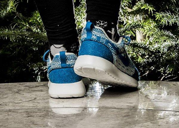 Nike Wmns Roshe One Winter Brigade Blue (4)