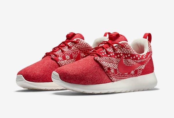Nike Wmns Roshe One Winter University Red (1)