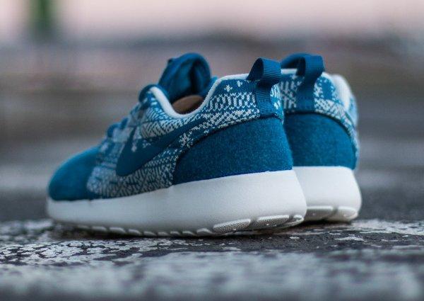 Nike Wmns Roshe One Winter bleue (3)