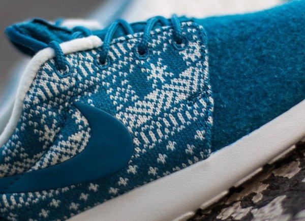 Nike Wmns Roshe One Winter bleue (4)