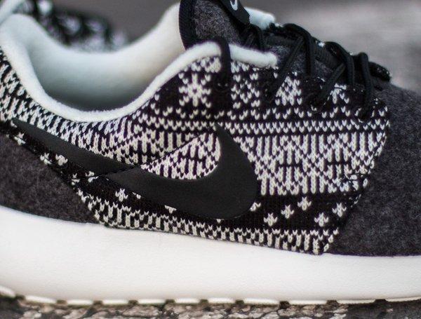 Nike Wmns Roshe One Winter noire (3)