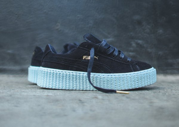 puma creeper bleu