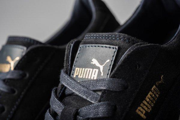 Puma Suede Creepers x Rihanna daim noir et semelle bleue (9)