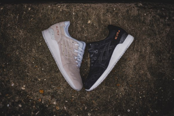 chaussure asics gel lyte III rose gold (2)