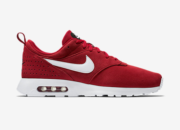 nouveau concept a9623 f65b8 Nike Air Max Tavas Leather Gym Red