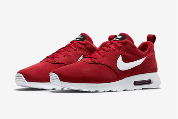 nouveau concept 137ee e3b22 Nike Air Max Tavas Leather Gym Red