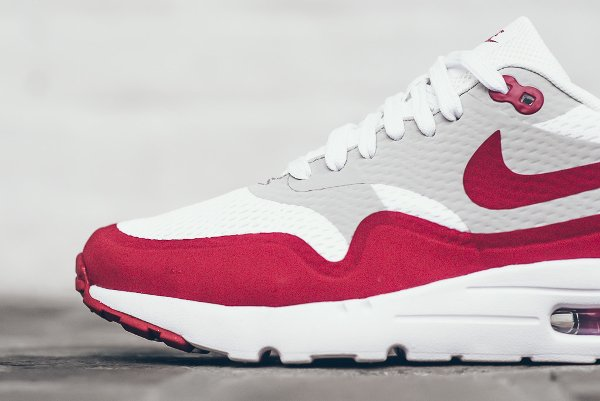 nike air max 1 ultra essential white university red-natural grey-white (5)