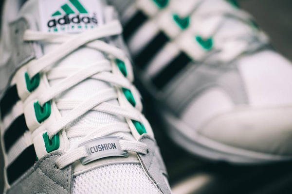 Adidas EQT Cushion 93 OG Vintage White Sub Green (5)