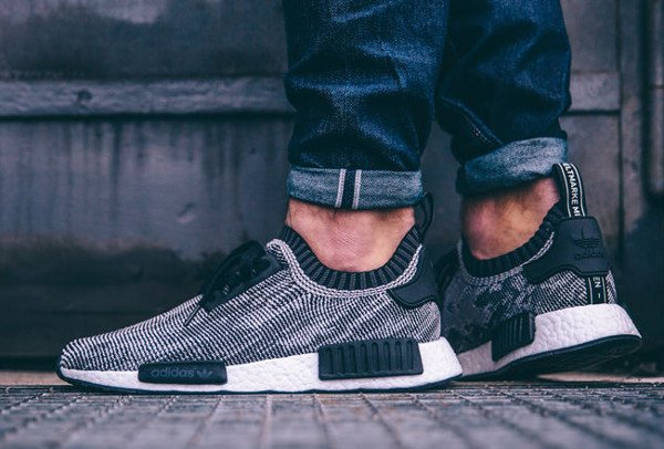 Adidas Originals NMD Runner Primeknit 'Core Black'