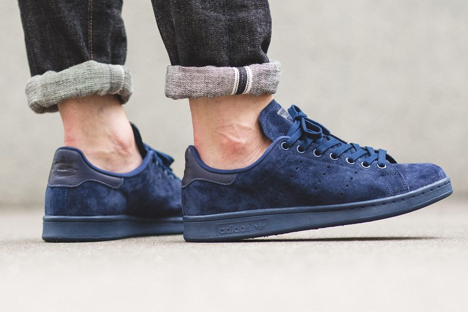 stan smith daim bleu