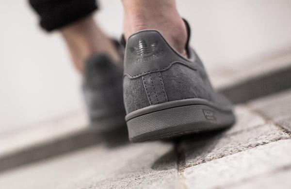 Adidas Stan Smith Daim gris (2)