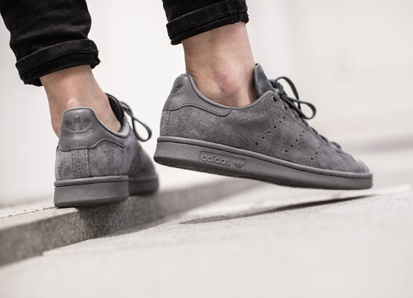 Adidas Stan Smith Daim gris (3)