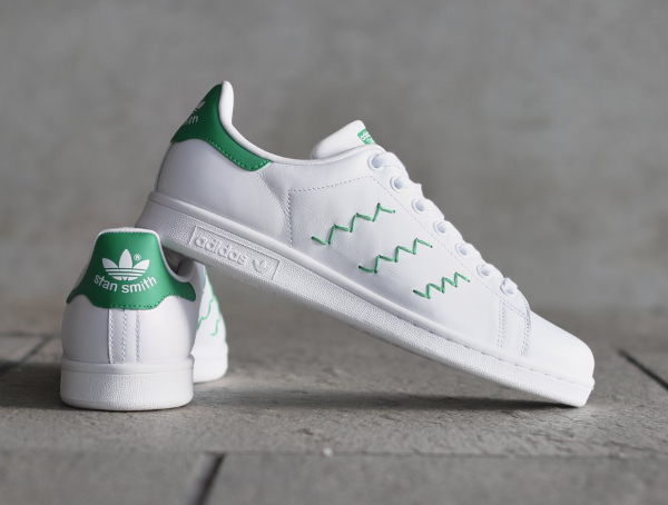o acheter la adidas stan smith w og zig zag stripes. Black Bedroom Furniture Sets. Home Design Ideas