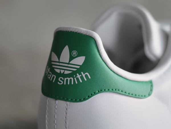 Adidas Stan Smith W OG White Green pour femme pas cher (4)