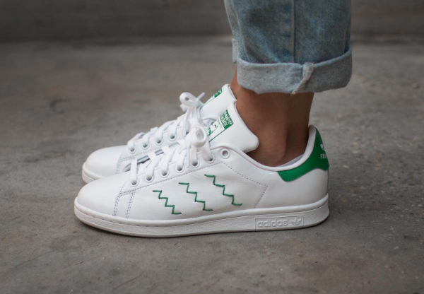 Adidas Stan Smith W OG Zig Zag Stripes (femme) (1)