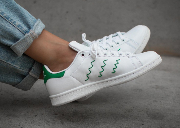 Adidas Stan Smith W OG Zig Zag Stripes (femme) (2)