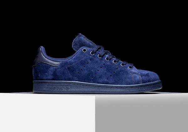 nouveau style 7a75b 903dd Où acheter la Adidas Stan Smith Suede Night Indigo ?
