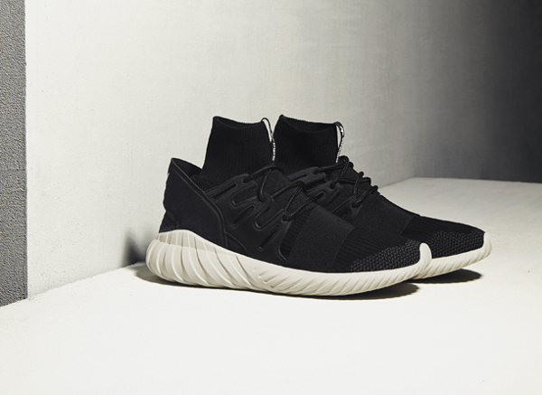 Adidas Tubular Doom Primeknit Black Cream White (1)