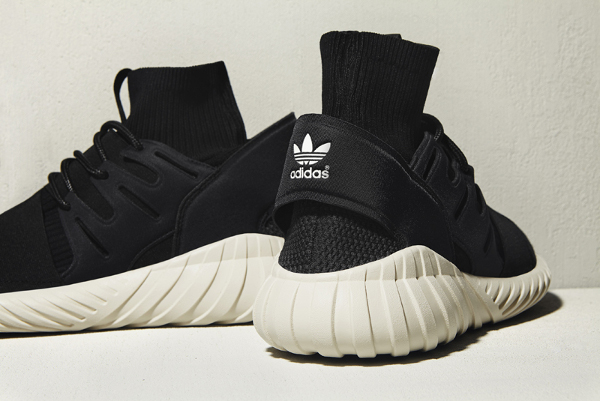 Adidas Tubular Doom Primeknit Black Cream White (3)