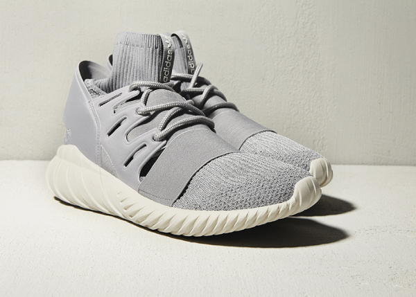 Adidas Tubular Doom Primeknit Solid Grey Cream White (1)
