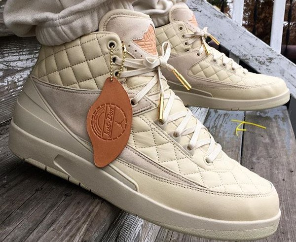 Air Jordan 2 Just Don Quilted pas cherBeach (1)