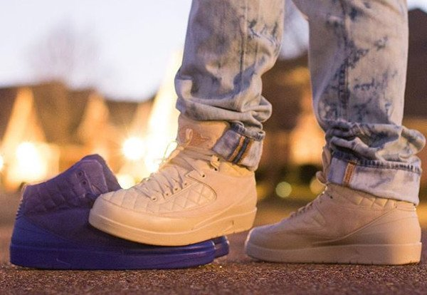 Air Jordan 2 Just Don Quilted pas cherBeach (2)
