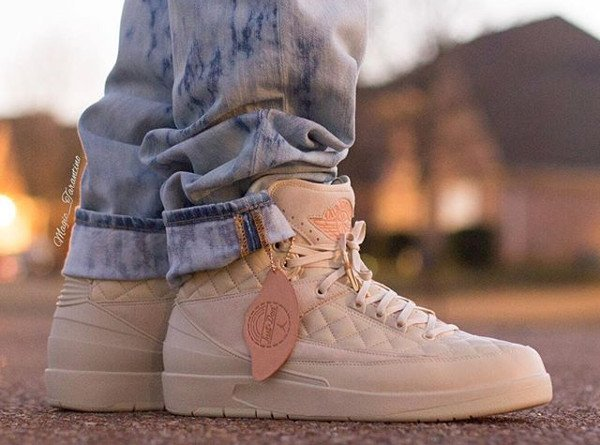 Air Jordan 2 Just Don Quilted pas cherBeach (4)