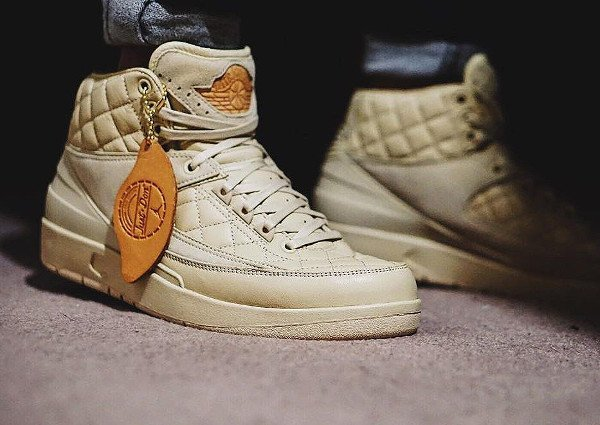 Air Jordan 2 Just Don Quilted pas cherBeach (5)