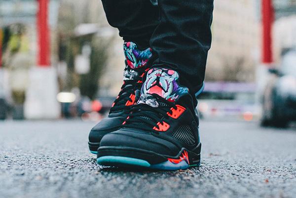 Air Jordan 5 Retro Low CNY pas cher (3)