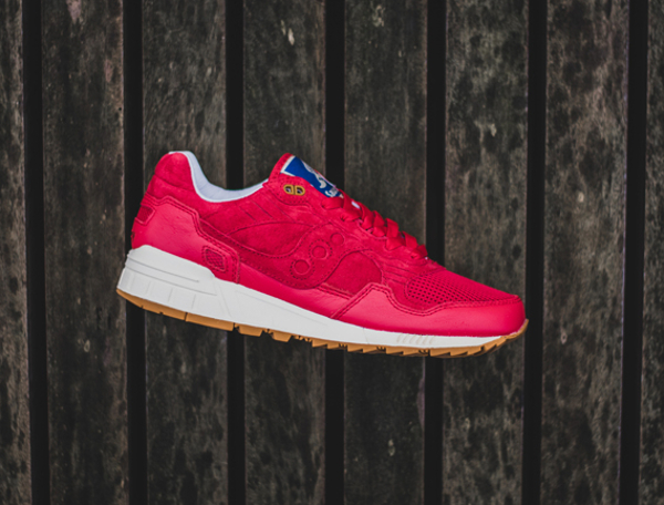 Bodega x Saucony Shadow 5000 Red Gum (2)
