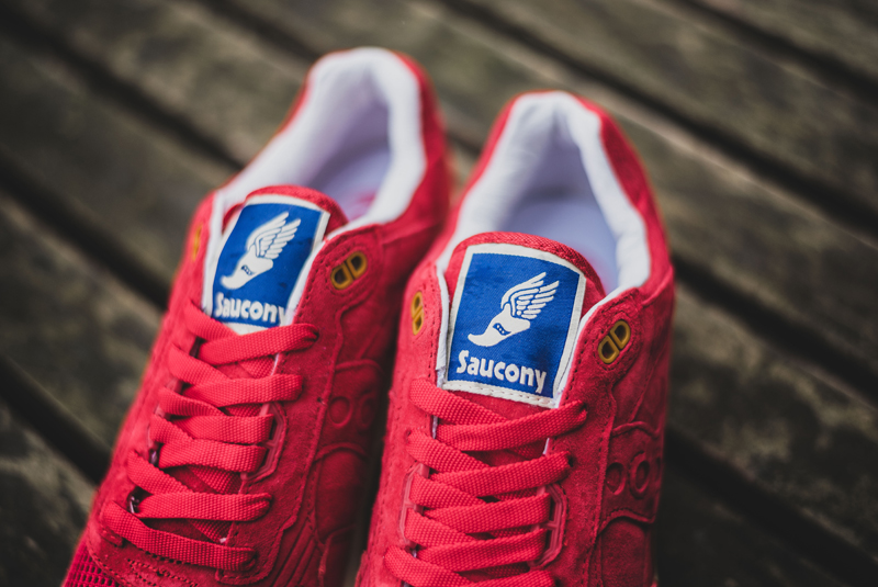 Bodega x Saucony Shadow 5000 Red Gum (3)