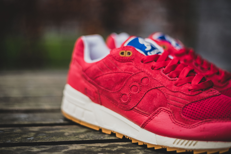 Bodega x Saucony Shadow 5000 Red Gum (6)