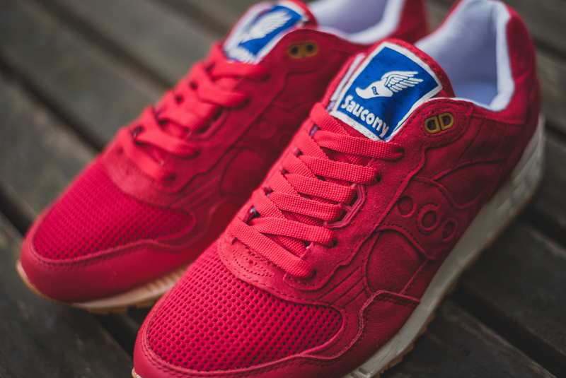 Bodega x Saucony Shadow 5000 Red Gum (9)