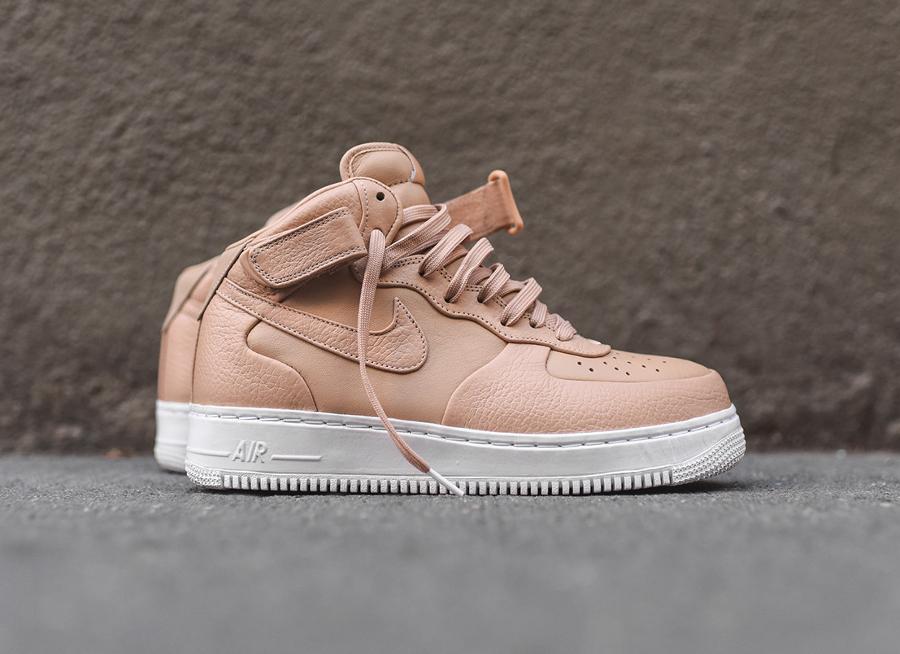 acheter en ligne e219d 4057b Où acheter les NikeLab Air Force 1 Mid & Low Vachetta Tan ?