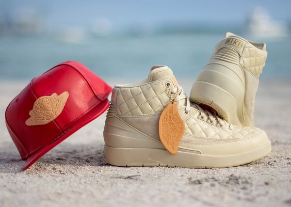 Don C x Air Jordan 2 Retro Beach (2)
