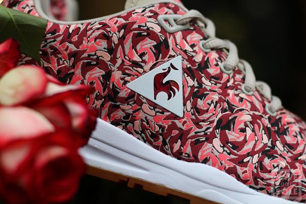 Le Coq Sportif LCS R950 Jacquard Pink Flowers (imprimé à fleurs) (5)