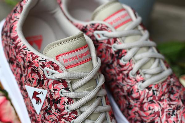 Le Coq Sportif LCS R950 Jacquard Pink Flowers (imprimé à fleurs) (7)