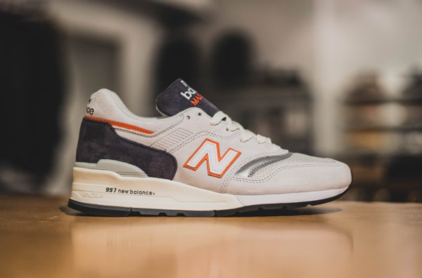New Balance M997CSEA Grey Orange Made in USA (1)