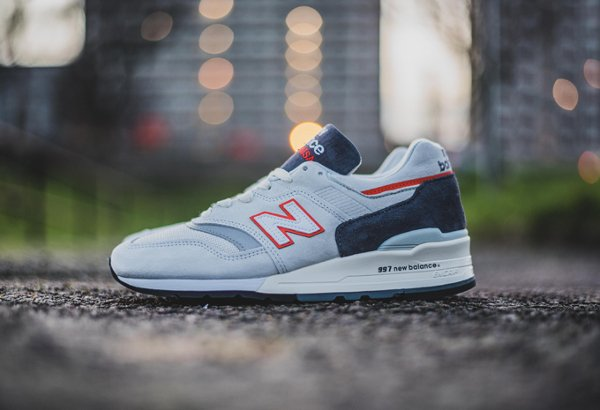 New Balance M997CSEA Grey Orange Made in USA (2)