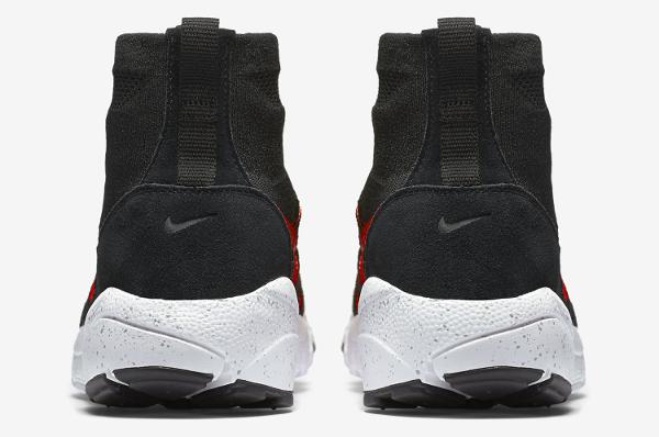 Nike Air Footscape Magista Flyknit Black Bright Crimson (2)