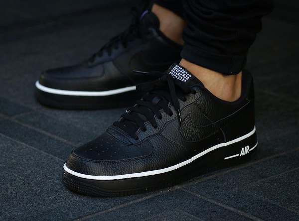 Nike Air Force 1 Low Pivot Black Black (4)