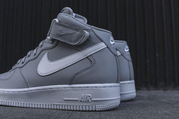 Où acheter la Nike Air Force 1 Mid 07 Wolf Grey ?