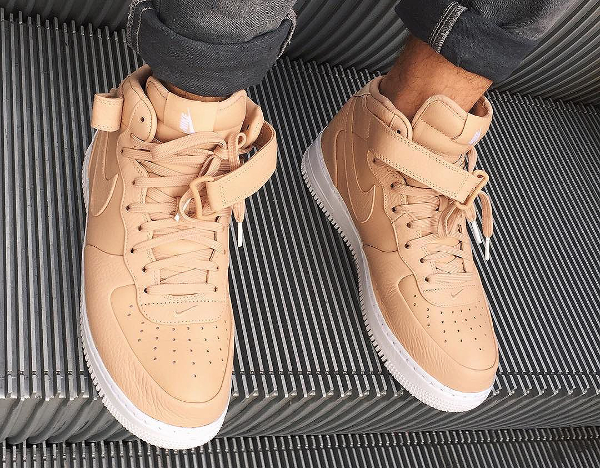 Nike Air Force 1 Mid SP Vachetta Tan pas cher