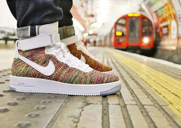 Nike Air Force 1 Ultra Flyknit Multicolor pas cher (1)