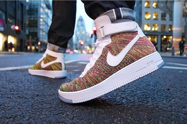 Nike Air Force 1 Ultra Flyknit Multicolor pas cher (2)