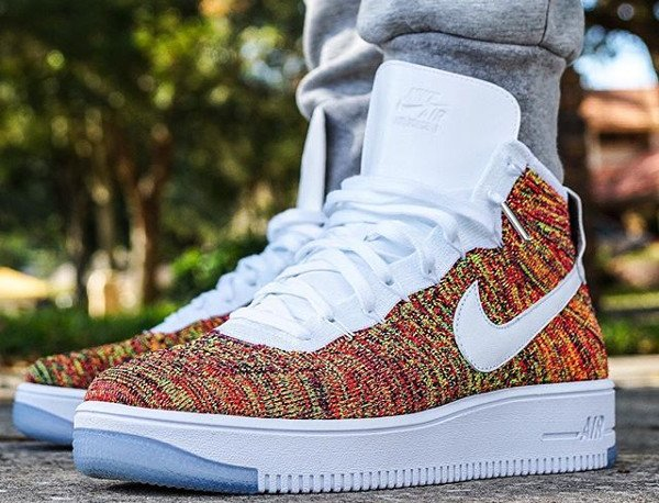 Nike Air Force 1 Ultra Flyknit Multicolor pas cher (3)