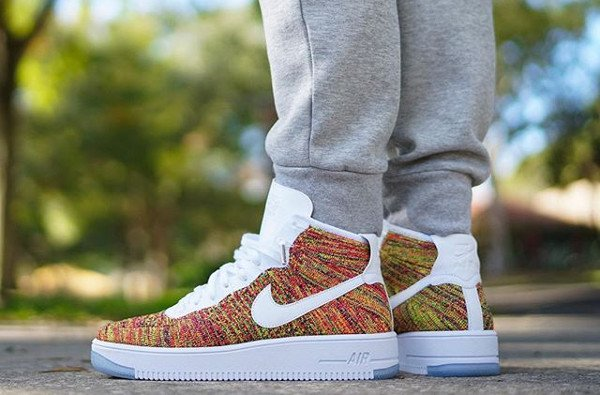 Nike Air Force 1 Ultra Flyknit Multicolor pas cher (4)