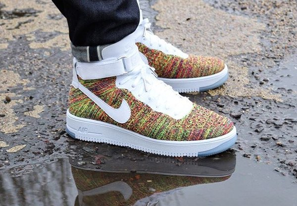 Nike Air Force 1 Ultra Flyknit Multicolor pas cher
