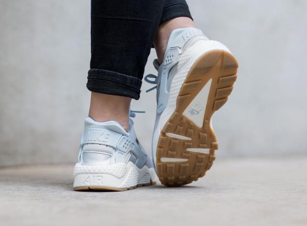 Nike Air Huarache Textile Porpoise femme pas cher (2)