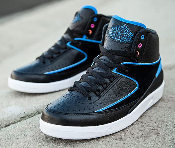 Nike Air Jordan 2 Retro Photo Blue Radio Raheem pas cher (1)